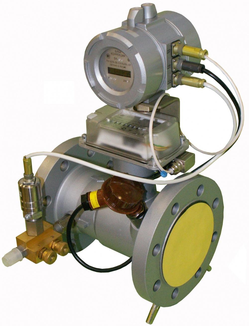 счетчик газа роторный схема принцип работы