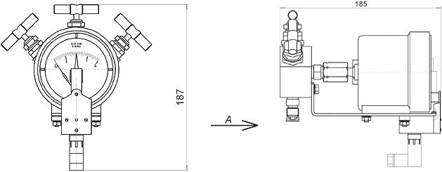 Манометр дифференциальный ДСП-80-РАСКО является условным функциональным аналогом.  4. Предельно допускаемое рабочее...